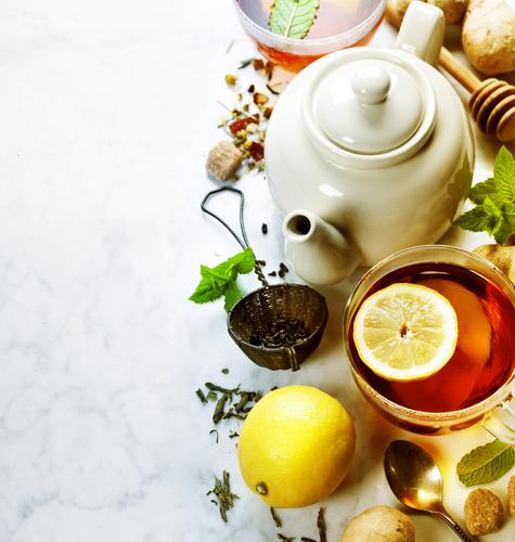 Magija čaja + recept za zemičke iz kraljevske kuhinje