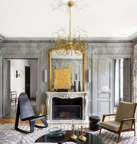 Dostižni glamur: Pariški moderni stil