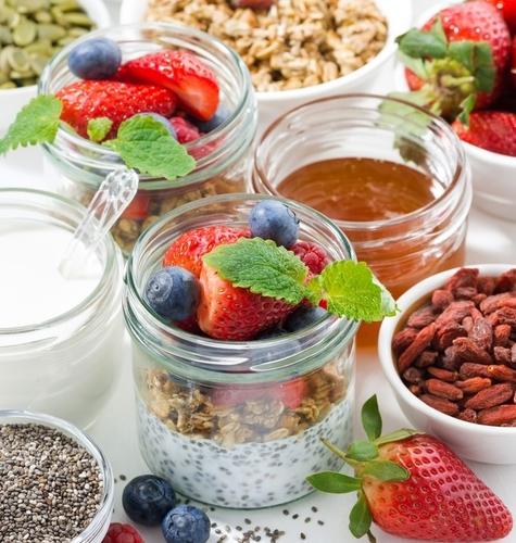 Zdravi doručak u teglici